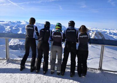 Teamevent Skifahren Kaprun